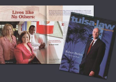 University of Tulsa Law Magazine